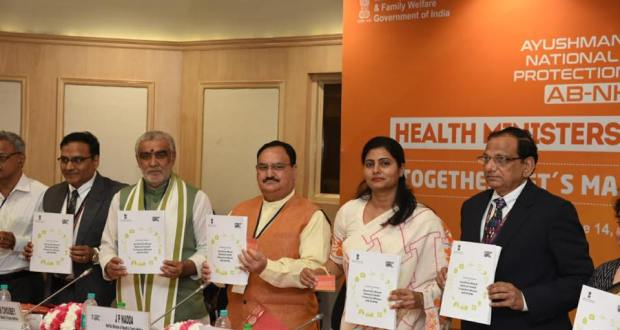 Health Ministers Conclave saw 20 States Join hands with the Federal Government for a smooth roll out of Ayushman Bharat.