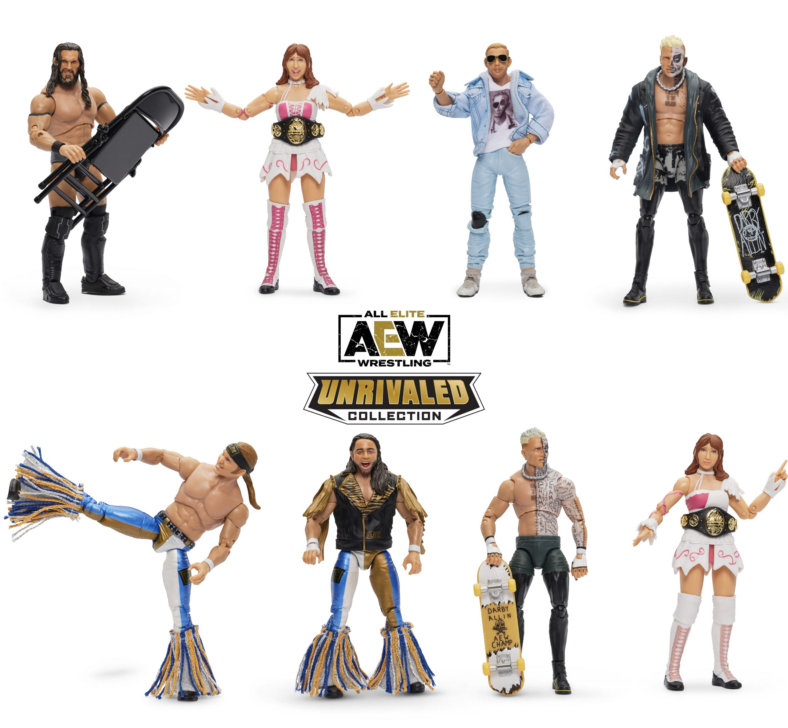 Aew S Unrivaled Series 3 Action Figures Revealed Launch Early 2021