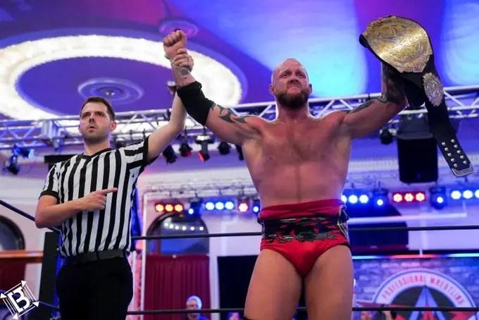 Josh Alexander AAW Championship
