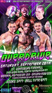 Preview Empire State Wrestling Present Overdrive