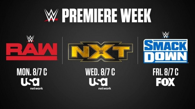 New Raw Smackdown Announce Teams