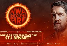 Stu Bennett NWA Into The Fire