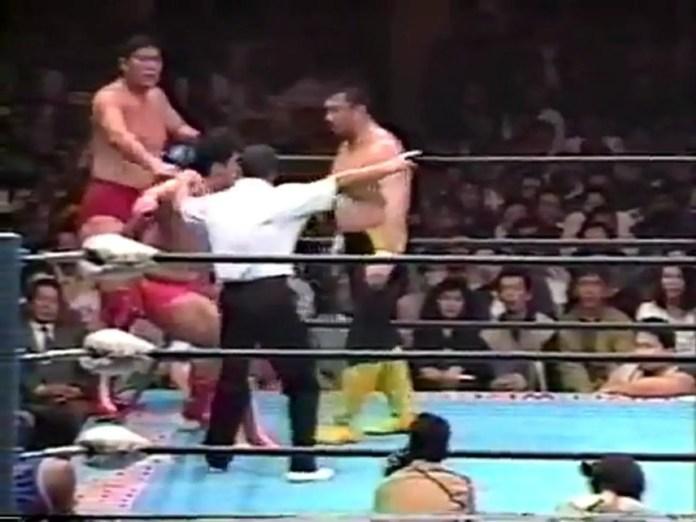 Mitsuharu Misawa Kenta Kobashi vs Toshiaki Kawada Akira Taue