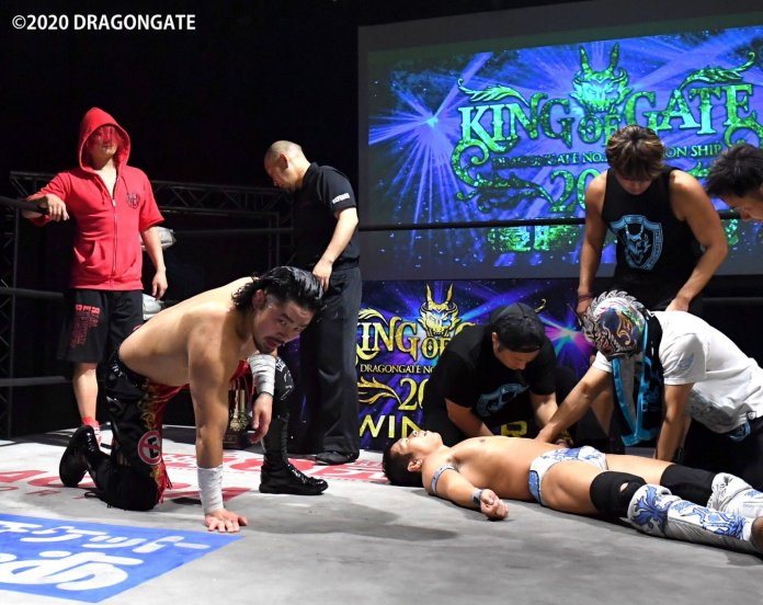 Eita Wins Dragon Gate's King of Gate 2020