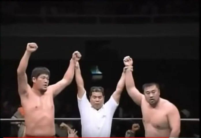 Misawa & Akiyama vs Kawada