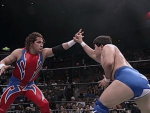 Super Crazy en la Extreme Championship Wrestling
