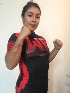 Sara Cova, la mujer y las artes marciales mixtas