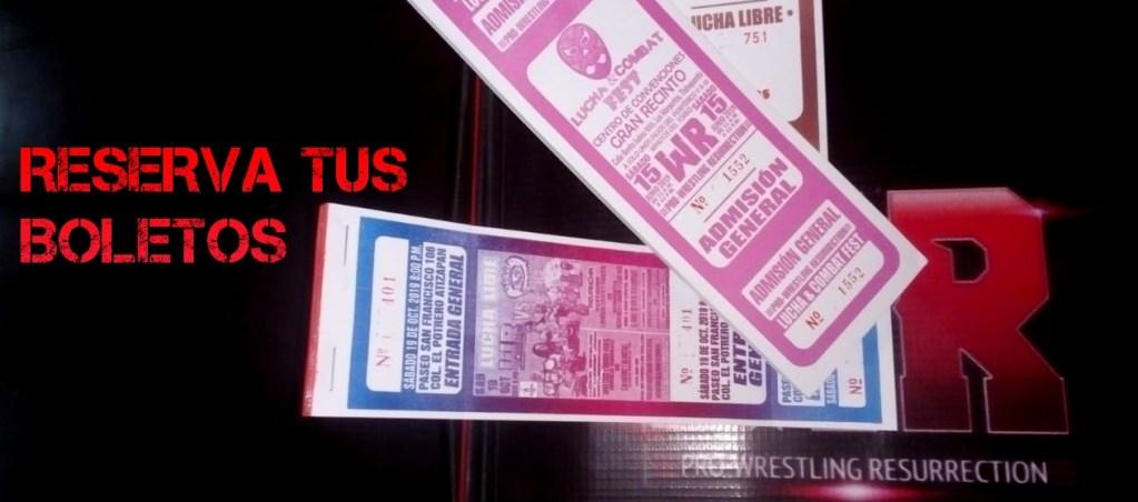 Boletos para la lucha libre