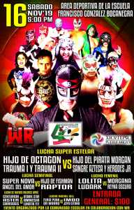 Lucha libre en Xicotepec