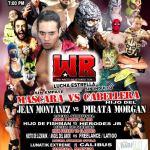 Jean Montañez vs. Hijo del Pirata Morgan, máscara vs. cabellera