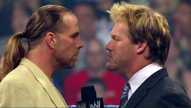 Shawn Michaels and Chris Jericho, SummerSlam 2008.