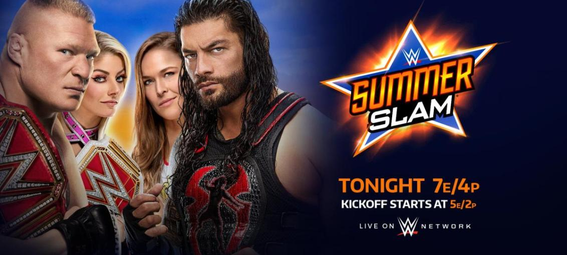 WWE SummerSlam 2018 Results