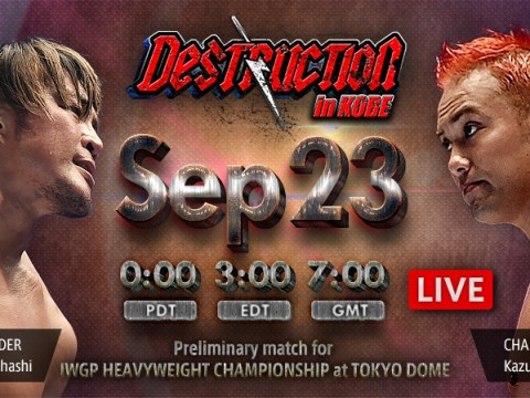 NJPW Destruction In Kobe 2018 Results
