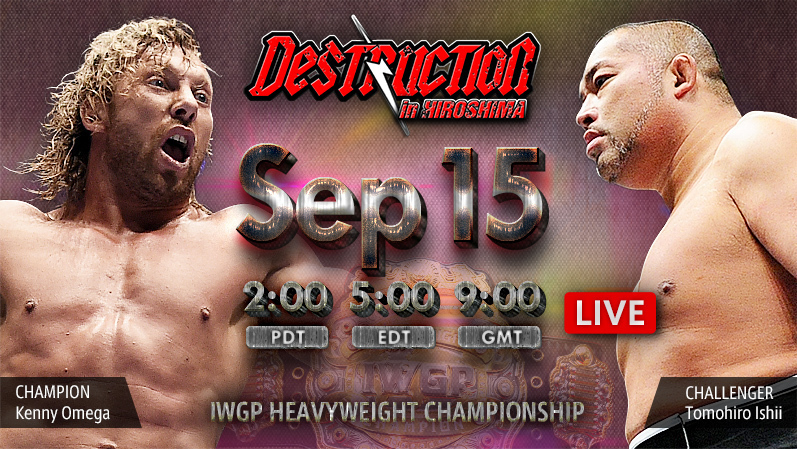 NJPW Destruction In Hiroshima 2018 Results