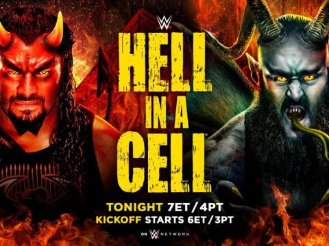 WWE Hell in a Cell 2018 Results