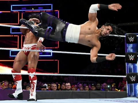 WWE 205 Live Results (10/31)
