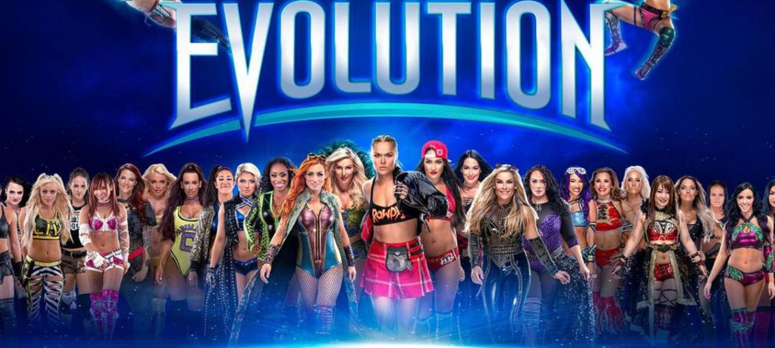 WWE Evolution Results