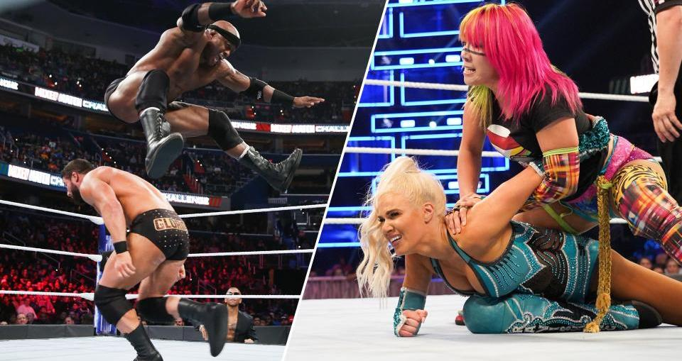 WWE Mixed Match Challenge Results - October 16, 2018