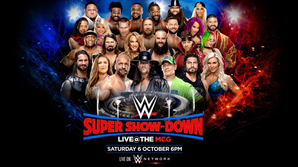 WWE Super Show-Down Results
