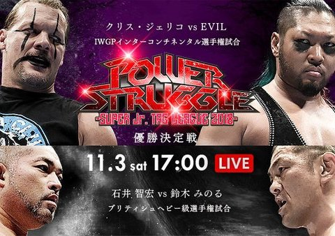 NJPW Power Struggle 2018 Results