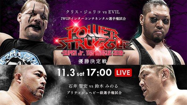 NJPW Power Struggle 2018 Results