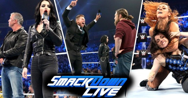 WWE SmackDown Live Results (11/6)