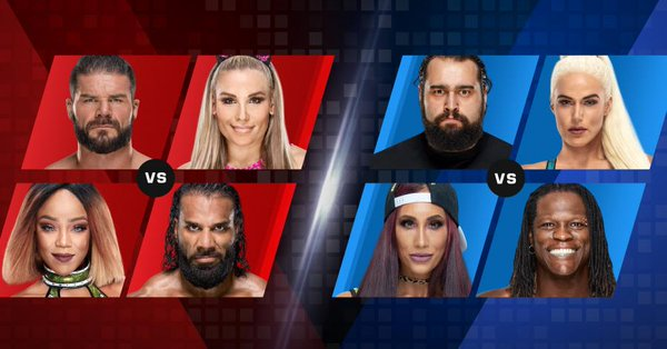 WWE Mixed Match Challenge Results - November 20, 2018
