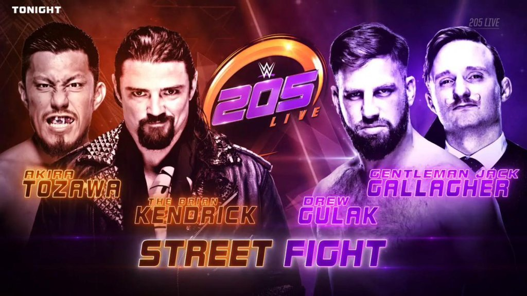 WWE 205 Live Results (12/19)
