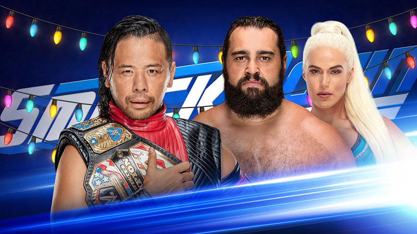 WWE SmackDown Live Results (12/25)