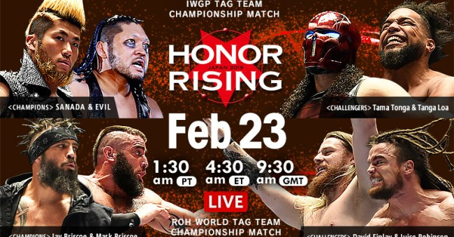 NJPW Honor Rising Results 2/23/19