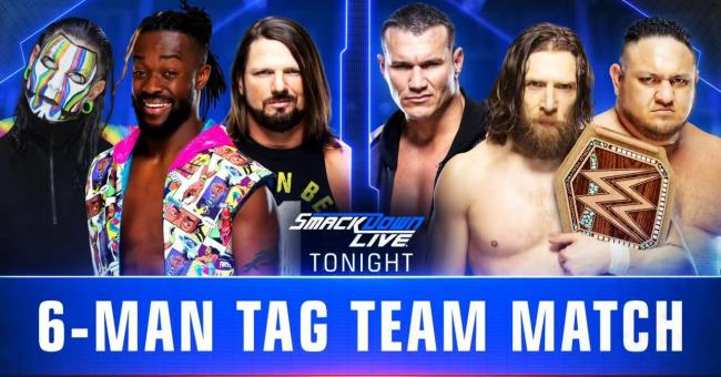 WWE SmackDown Live Results (2/19/19)