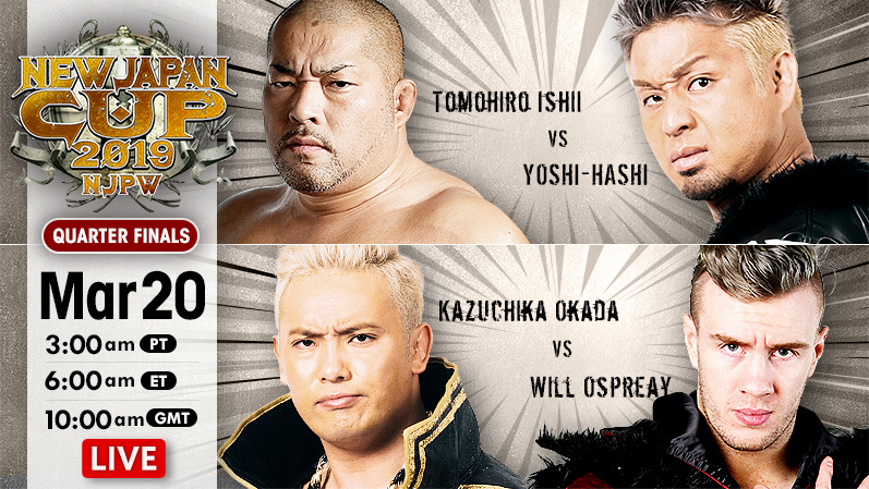New Japan Cup Results (3/20/19)