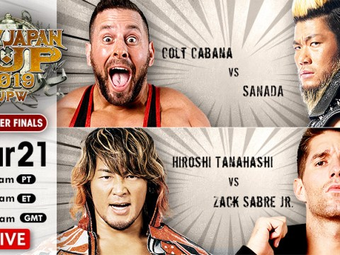 New Japan Cup Results (3/21/19)