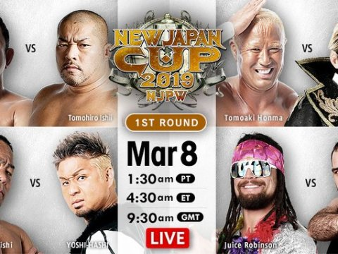 New Japan Cup Results (3/8/19)