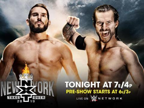 WWE NXT TakeOver New York Results