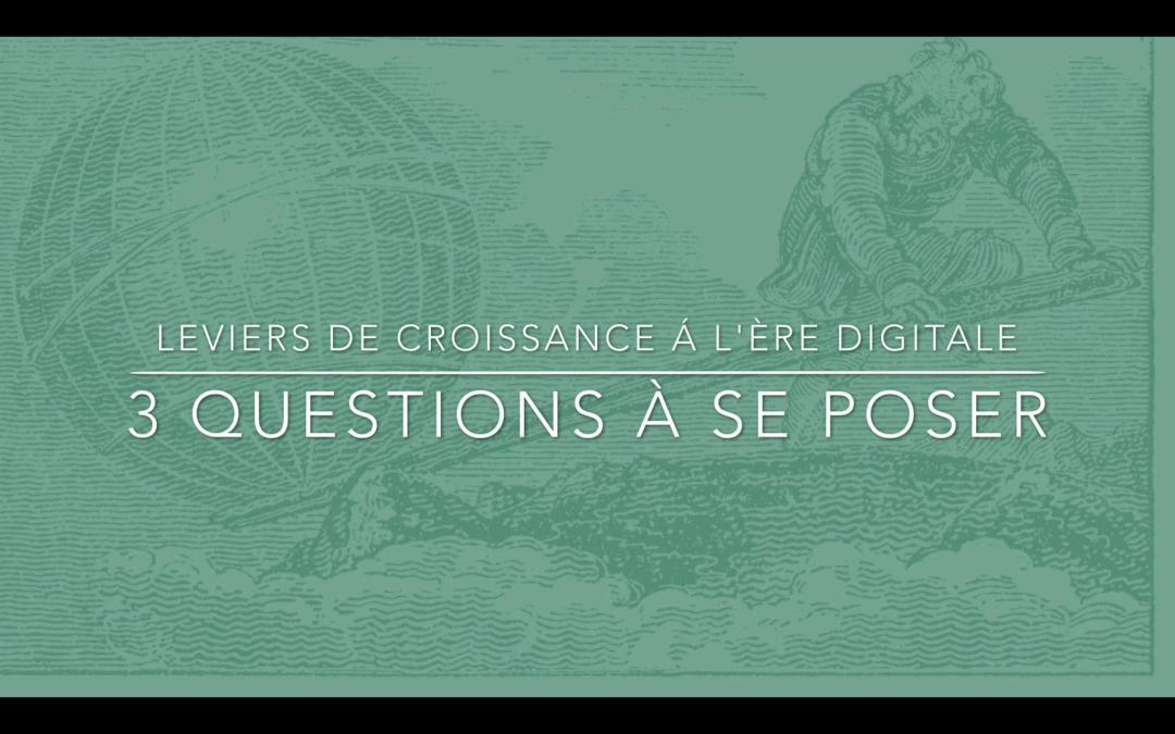 FAQ vidéo Proximale : leviers de croissance à l'ère digitale, 3 questions à se poser (Part. 01)