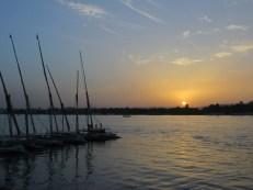 A orillas del Nilo,Lúxor