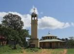 La iglesia Santa María de Yabelo, sur de Etiopía