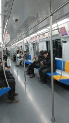 El Metro en Beijing