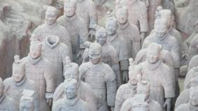 Los guerreros de Terracota, Xian, China