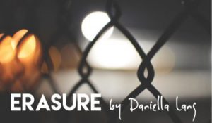 Erasure, by Daniella Lang