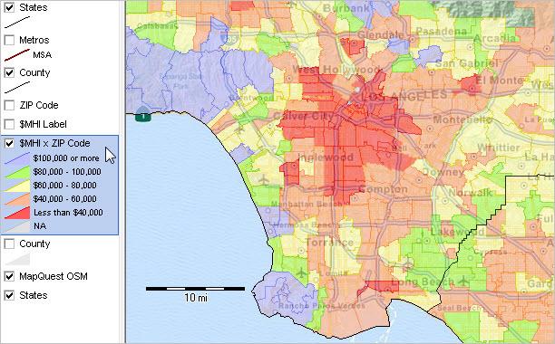 ZIP Code Demographics DecisionMaking Information Resources - Us 3 digit zip code map