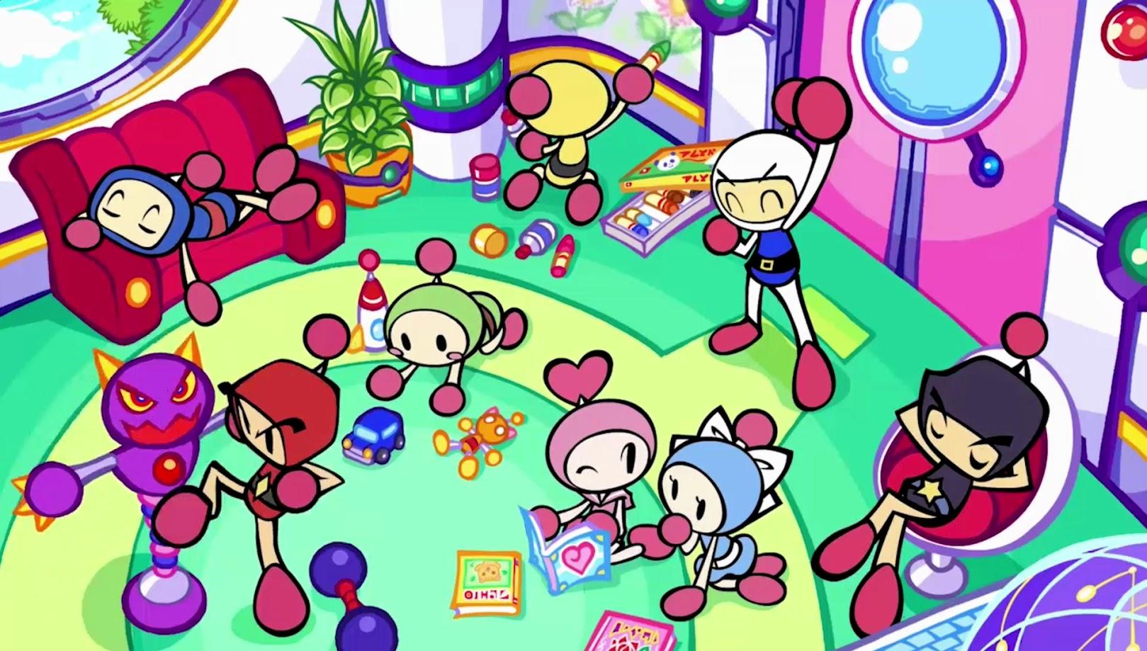 Super Bomberman R Revela Trailers Com Personagens