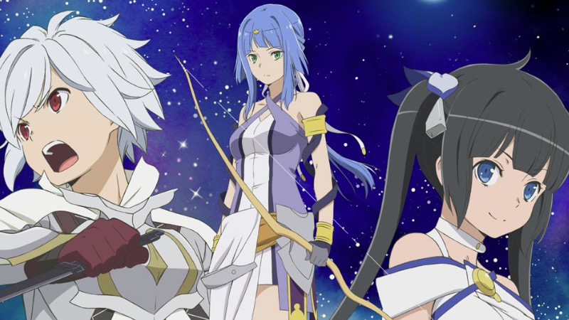 Danmachi: Arrow of Orion - TV CM #1, #2 e #3
