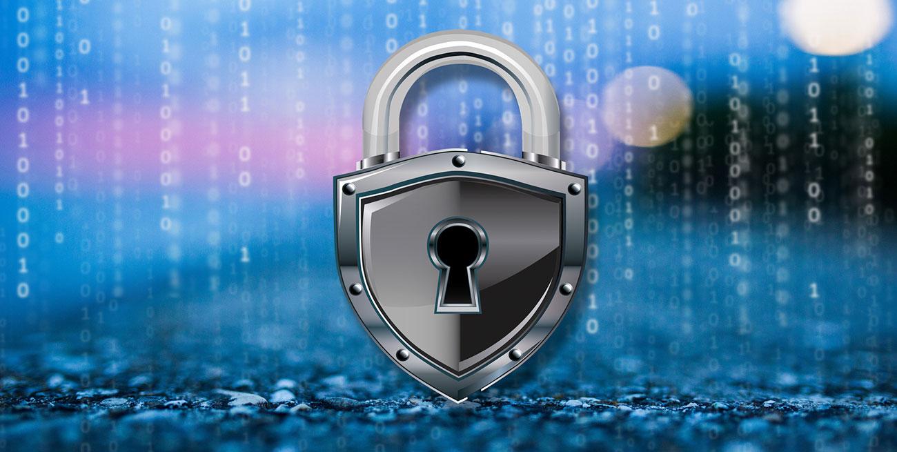 Cadeado protegendo dados