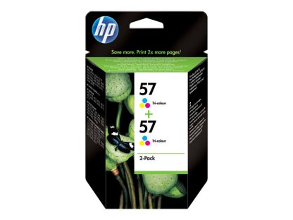 HP Cartouche d'endre Pack HP57
