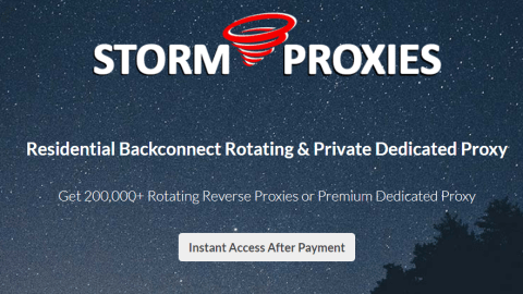 Residential Backconnect Rotating & Private Dedicated Proxy