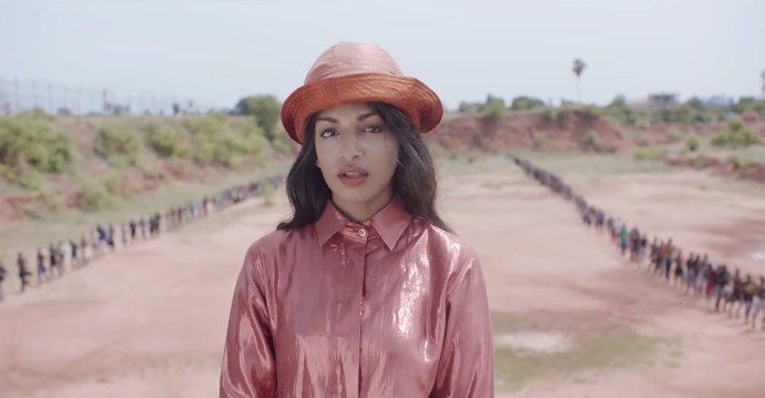 "Video for ""Borders"" by M.I.A., directed by M.I.A."