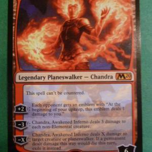 Chandra, Awakened Inferno Holo Holo black core