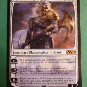 Ajani, Strength of the Pride Holo black core